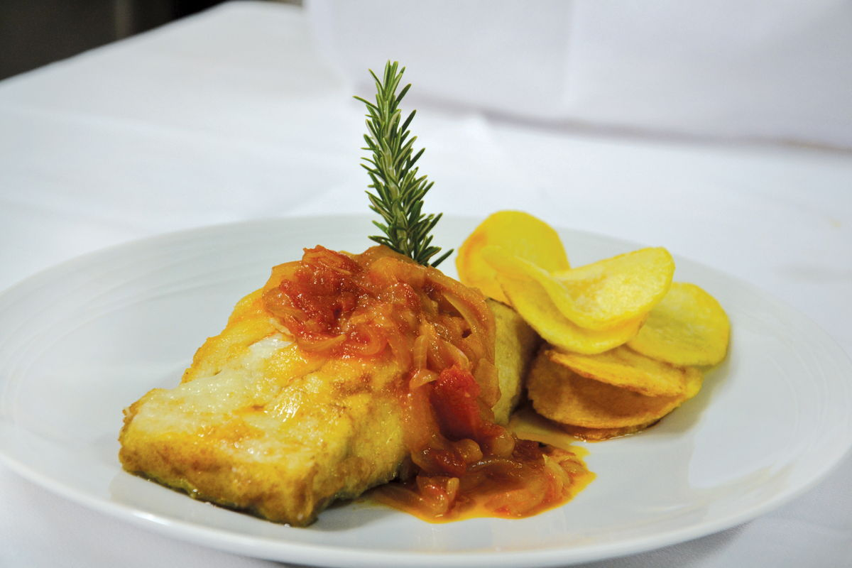 piatto di merluzzo - Hotel Lis Batalha