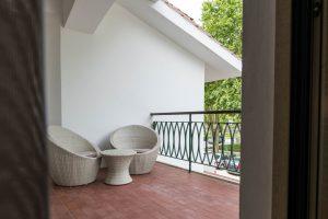 Hotel Lis Batalha – Hotel Mestre Afonso Domingues – Varanda do quarto Duplo Vista Mosteiro